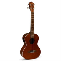 Lanikai LU-Series Tenor AC/EL Ukulele in Natural Gloss Finish with Fishman Kula Preamp