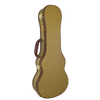 MBT Wooden Tenor Ukulele Case in Tweed Fabric