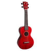 Mahalo MH2 Ukulele Transparent Wine Red
