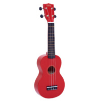 Mahalo MR1 Soprano Ukulele - Red