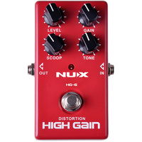 NU-X Analog Series HG-6 Modern High-Gain Effects Pedal