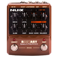 NU-X Roctary Speaker Simulator & Polyphonic Octave Pedal