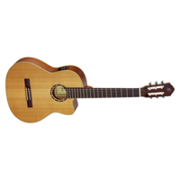 ORTEGA NYLON STRING GUITAR WITH CUTAWAY/PICKUP
