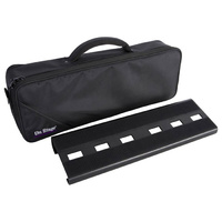 On Stage Compact Pedal Board with Custom Gig Bag