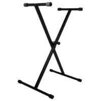 On Stage Classic Single X-Braced Keyboard Stand