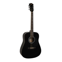 Redding RED50 Acoustic Guitar - Black
