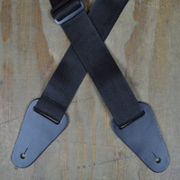 2″ Nylon Web Strap - Black