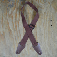 2″ Nylon Web Strap - Brown