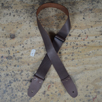 2″ Soft Leather Strap - Black