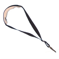 Colonial Leather Sax Strap w/Sheepskin Padding