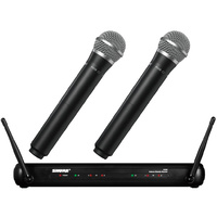 Shure PG58/SVX288 Dual Vocal Wireless System