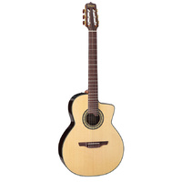 Takamine Pro Series AC/EL Full Size Classical Guitar with Cutaway