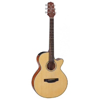 Takamine TED2FCNAT FXC Acoustic-Electric Guitar With Pickup Natural Finish