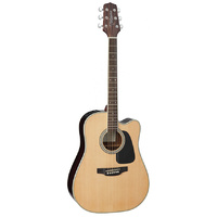 Takamine D3 Series Dreadnought AC/EL Guitar with Cutaway