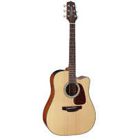 Takamine D4 Series Dreadnought AC/EL Guitar with Cutaway