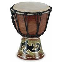 "Toca Wooden Mini Series 4"" Djembe"