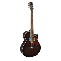 Tanglewood Winterleaf Folk Acoustic Guitar - Wine Red