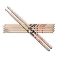 Vic Firth American Classic 5B Drumsticks 6 Pack - Choose Tip