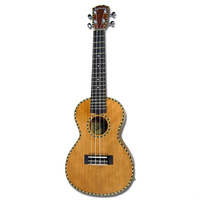 Kealoha YH-Series AC/EL Concert Ukulele with Solid Mahogany Top in Natural Matt Finish